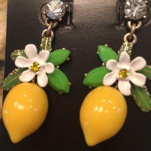 J Crew Lemon Drop Earrings